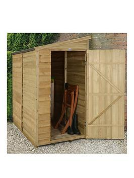 forest-6x3ft-overlap-pent-wall-shed