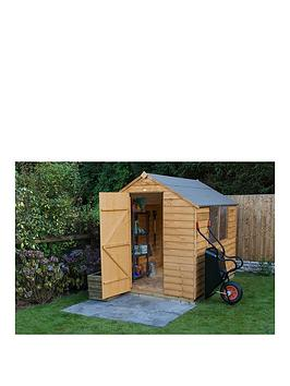 forest-6-x-8ft-single-door-2-window-overlap-dip-treated-apex-shed-with-optional-base-assembly