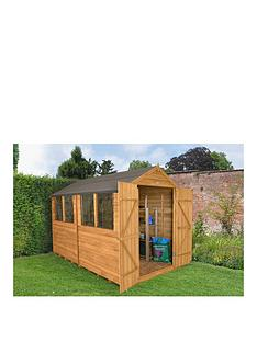 forest-forestnbsp8-x-10ftnbspdouble-door-4-window-overlap-dip-treated-apex-shed