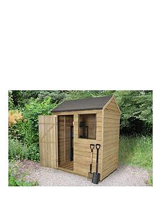 forest-6-x-4ft-single-door-1-window-overlap-pressure-treated-reverse-apex-shed-with-optional-base-assembly