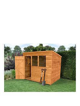 Buy cheap pent shed compare sheds garden furniture for Best deals on garden sheds