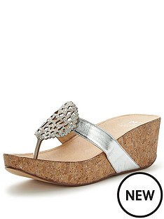 moda-in-pelle-zanettienbsplow-wedge-embellished-sandalsnbsp