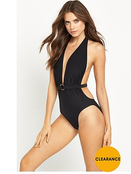 v-by-very-plunge-swimsuit