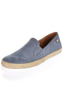 river-island-espadrille-sport-slip-on