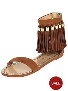 river-island-fringe-ankle-flat-sandal