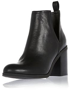 river-island-pu-cut-out-heeled-ankle-boots