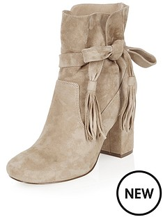 river-island-suede-ankle-wrap-bootsnbsp
