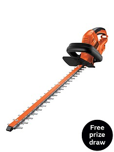 black-decker-gt5055-gb-500w-hedgetrimmer-55cm-blade-length-free-prize-draw-entry