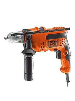 black-decker-kr604cresk-gb-600w-corded-percussion-hammer-drill