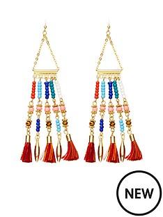 ethnic-bead-amp-tassel-detail-earrings