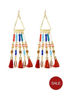 v-by-very-ethnic-bead-amp-tassel-detail-earrings