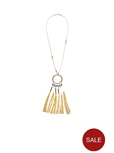 v-by-very-tassel-detail-necklace