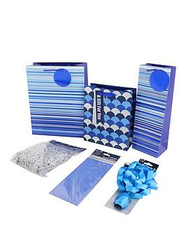 blue-gift-wrap-11-piece-bundle