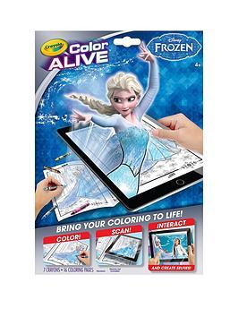crayola-colour-alive-disney-frozen