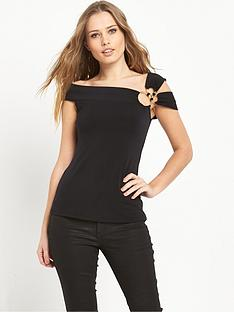 v-by-very-hoop-detail-bardot-top