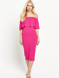 v-by-very-off-the-shoulder-jersey-midi-dressnbsp