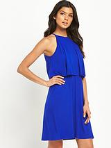 Jersey Tiered Day Dress