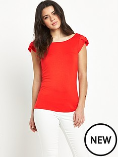 v-by-very-petal-sleeve-jersey-top