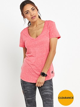 adidas-athletic-logo-v-neck-t-shirt-pink