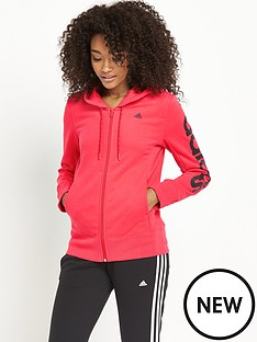 adidas-essential-linear-hooded-topnbsp