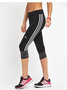 adidas-response-three-quarter-tight-black
