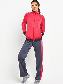 Adidas Basic Suit  PinkGrey