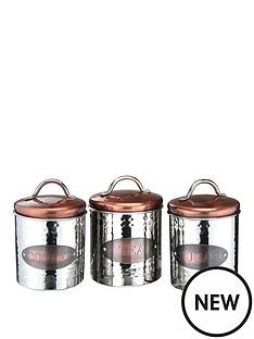 apollo-copper-tea-coffe-and-sugar-cannisters