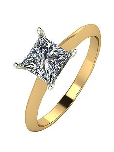 moissanite-9ct-gold-1-carat-square-brilliant-solitaire-ring