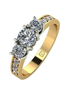 moissanite-lady-lynsey-9ct-gold-1ct-total-round-brilliant-moissanite-trilogy-ring-with-stone-set-shoulders