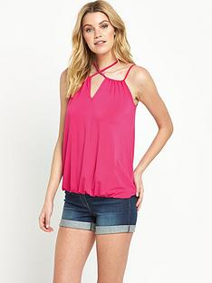 v-by-very-cross-strap-bubble-hem-jersey-top