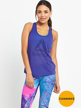 reebok-workout-logo-mesh-tank-purple