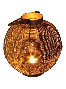 paroh-wire-mesh-candle-lantern-sphere-with-rope-handle