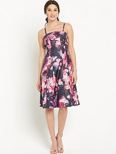 v-by-very-bandeau-panel-floral-prom-dress
