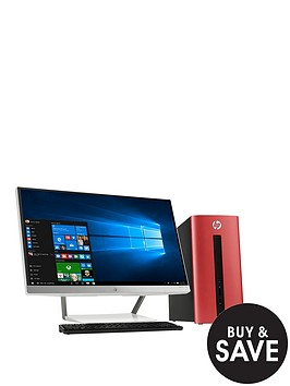 hp-pavillion-550-212na-amd-a10-processor-8gb-ram-2tb-hard-drive-128gb-ssd-236-inch-desktop-bundle-with-amd-2gb-dedicated-graphics-and-optional-microsoft-office-365-personal-red