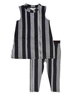river-island-mini-girls-stripy-top-and-leggings-set