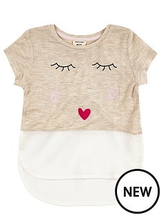 river-island-mini-girls-cream-kiss-t-shirt