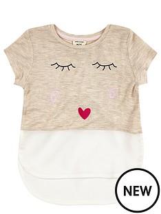 river-island-mini-girls-cream-kiss-t-shirt