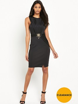 lipsy-chain-wrap-front-dress