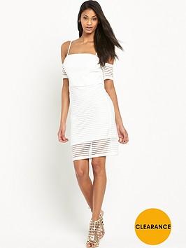 lipsy-ariana-grande-rib-cold-shoulder-midi-dress