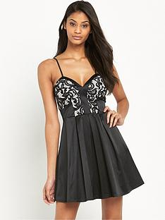 lipsy-ariana-grande-lace-top-prom-dress
