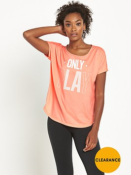 only-play-celia-loose-short-sleeve-training-t-shirt