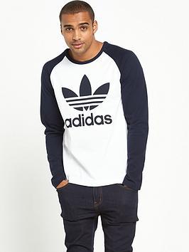 Adidas Originals Adidas Originals Trefoil Long Sleeve TShirt