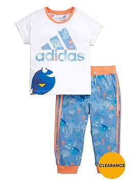 adidas-disney-younger-girls-dory-set