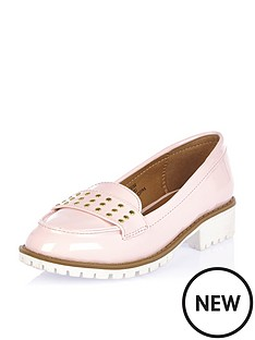 river-island-girls-studded-loafer