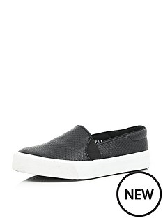 river-island-girls-black-slip-on-plimsolls