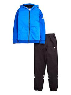 adidas-older-boys-fleece-hojonbsptracksuit-blue