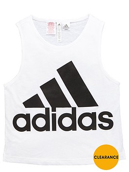 adidas-older-girls-logo-vest