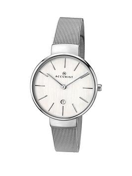 accurist-milanese-silver-stainless-steel-bracelet-ladies-watch