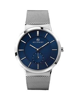 accurist-milanese-bracelet-blue-dial-mens-watch