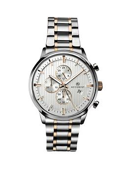 accurist-contemporary-chronograph-two-tone-mens-watch
